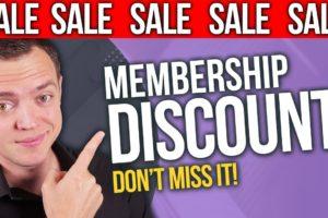 MEGA SALE: New Membership Website for Stock + Option Traders