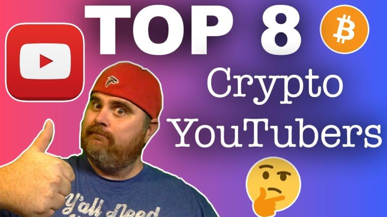 My TOP 8 Crypto YouTubers | Plus Honorable Mentions