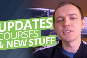New Announcements, Option Trading Courses, + Upcoming Promotions