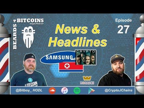 North Korea HACKING Crypto? | Samsung vs Apple | Michael Jackson Doc | B & B Ep 27