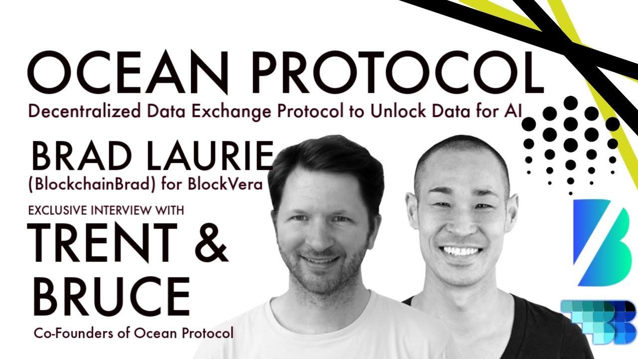Ocean Protocol   Decentralized Data Economy   BlockchainBrad   Unlock Data for AI