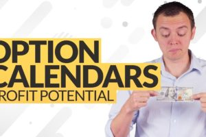 Profit Potential Trading Option Calendars on Stocks Ep 215
