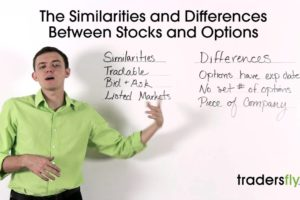 Similarities and Differences Between Stocks and Options