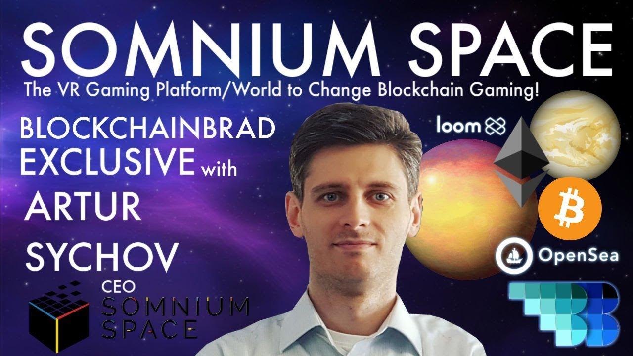 Somnium Space | The VR Blockchain Gaming Game-Changer | BlockchainBrad  | Crypto Gaming