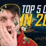 THE TOP 5 COINS IN 2018!! 🤑