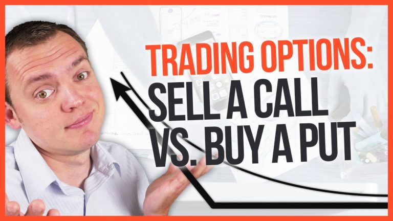 Trading Options What is the Difference Between Selling a Call & Buying a Put