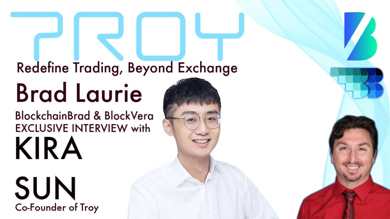 Troy | Troy Trade & Network |  BlockchainBrad | Redefine Trading, Beyond Exchange | Crypto Trading