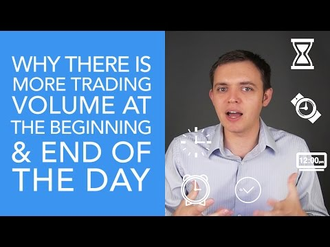 Why is There More Trading Volume at the Beginning & End of the Day?