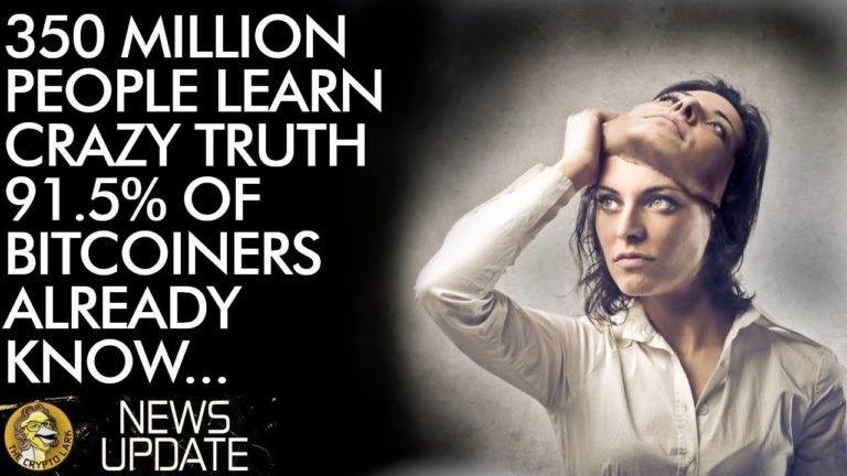 350 Million People Learn Crazy Truth 91.5% of Bitcoin Buyers Already Know