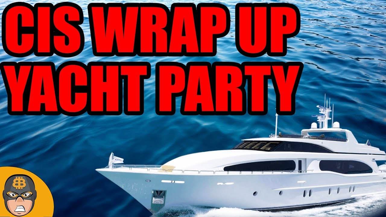 Are Crypto Conferences Doomed? | CIS Wrap Up Yacht Party