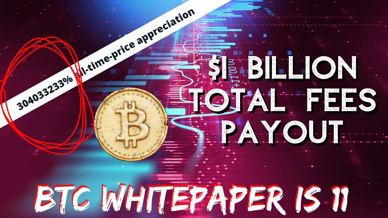 BTC HITS 1 BILLION TRANSACTION FEE | Bitcoin Whitepaper Birthday | China Blockchain |  Bitcoin News