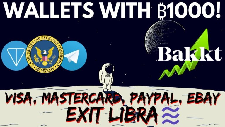 Bitcoin Bakkt EXPLODES! VISA, MasterCard, eBay, PayPal Leave Facebook Libra | Telegram SEC Trouble