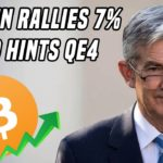 Bitcoin Pops 7% As FED Announces QE4 in 2020