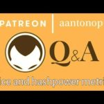 Bitcoin Q&A: Price and hashpower metrics