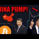 CHINA PUMP! More Bullish News Out Of China! Is Trump Is Feeling The Pressure?