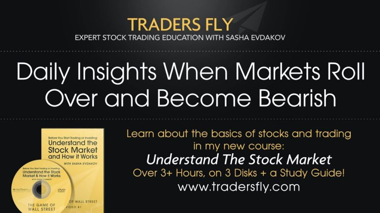Daily Insights When Markets Roll Over and Become Bearish