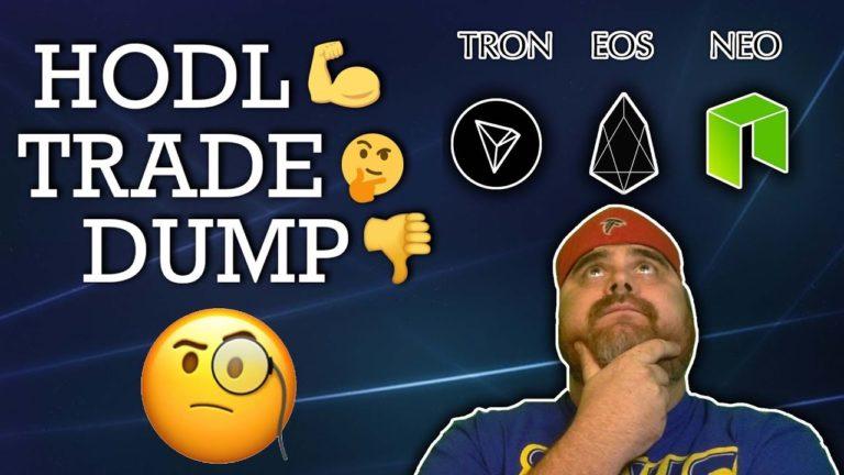 HODL, TRADE, OR DUMP: EOS vs TRON vs NEO