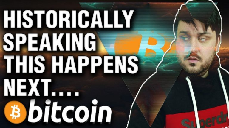 Historically Speaking, Here's What Happens Next for Bitcoin!