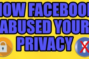 How Facebook Abused YOUR Privacy (FB Lawsuit 2019)