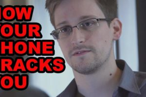 How Your Phone Tracks You (Snowden Explains Privacy Issue)