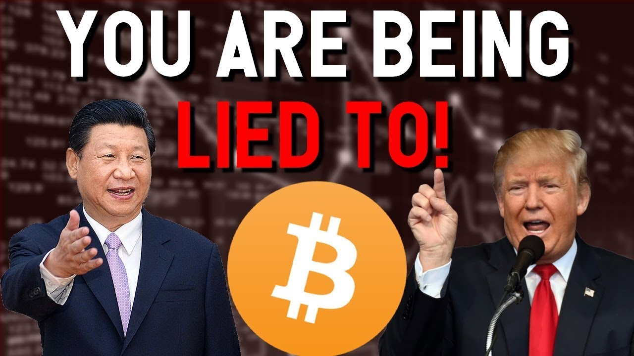 ?PROOF you are being LIED TO about BITCOIN! ?China & USA admit to crashing BTC and Blockchain!