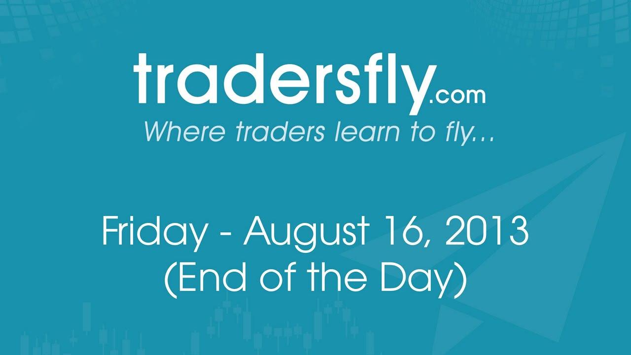 Recap Market Breaking Down - Tiffany, Macy's, Trip, Priceline, and Amazon - Aug 16, 2013