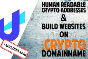 Receive Payments Or Build Websites On Your .crypto Domain Name (Unstoppable Domains)