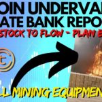 State Bank Reports Bitcoin Price Is UNDERVALUED! Bitcoin Mining Farm Fire   Tomochain & Chainlink