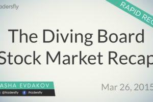 Stock Market Rapid Recap - Mar 26, 2015