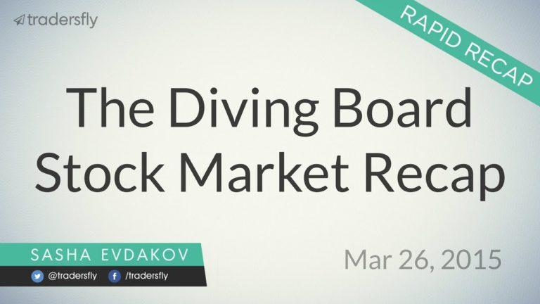 Stock Market Rapid Recap – Mar 26, 2015