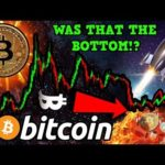 Why BITCOIN Might Have Already Bottomed!! Is This a FAKEOUT? What I'm Doing Right Now