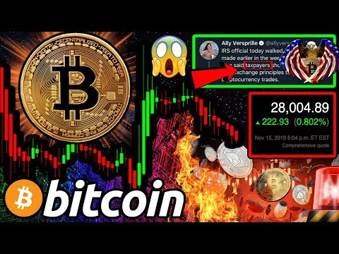 BITCOIN: TIME to BUY?! IRS Changes Tune on Crypto!! What Now?! Dow Jones All Time High!