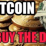BUY BITCOIN DIP *not financial advice :)