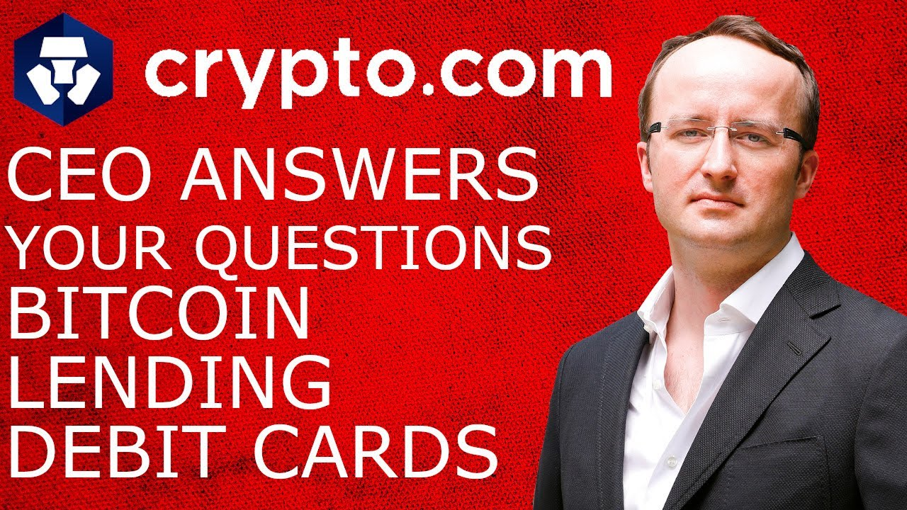 CRYPTO.COM CEO Answers Your Questions on Bitcoin, Lending, Debit Cards & More