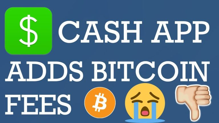 Cash App Bitcoin Fees Coming | How Much are Cash App Bitcoin Fees in 2019?
