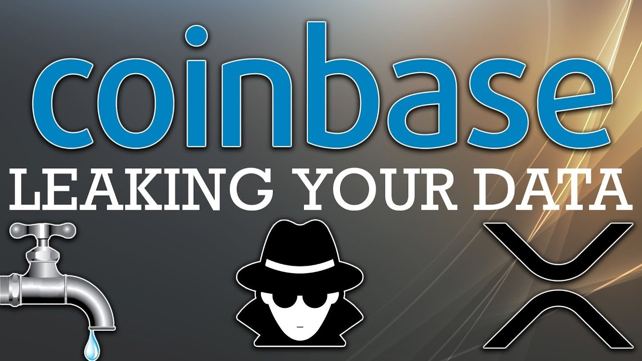 Coinbase is Leaking User Information   XRP Lawsuit (Bitcoin News 2019)