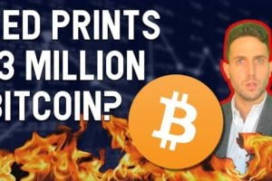 FED JUST PRINTED 13M BITCOIN (in USD)? 😱 PayPal shuts 100,000 Accounts? Wyoming challenges NYDFS?
