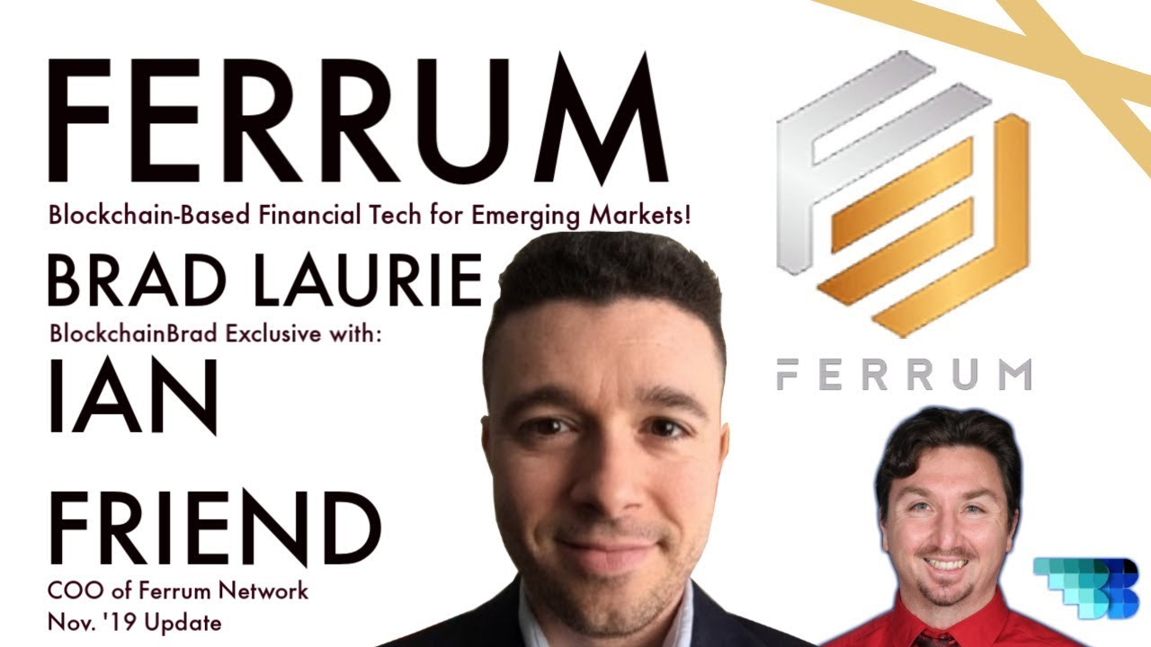 Ferrum Network | Crypto Update | Pre-MainNet Staking | Kudi Exchange |  BlockchainBrad Crypto Update