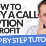 How to Buy a Call Option & Profit  Step by Step Tutorial (Think or Swim Platform by TD Ameritrade)