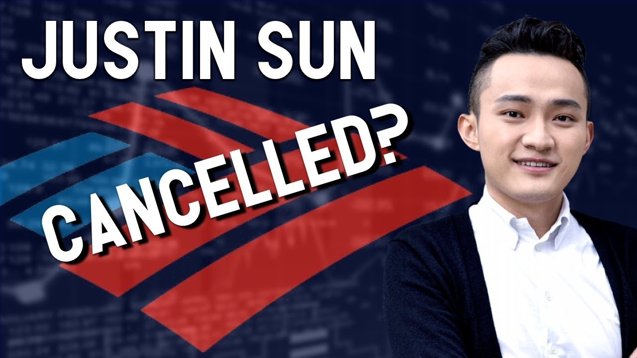 Justin Sun & PayPal CFO lose bank accounts without explanation? ? Bitcoin & Crypto case in point
