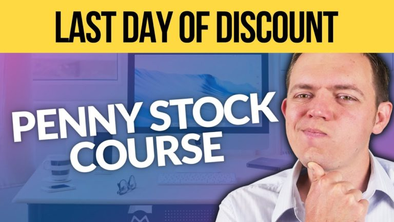 REMINDER – LAST DAY to Get the Penny Stock Course at a Discount!