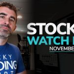 Stock Watch List and Game Plan for November 4th, 2019