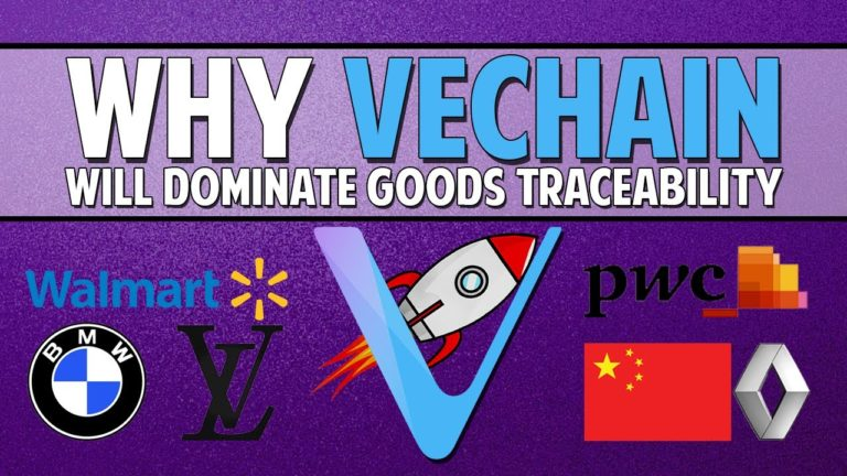 VeChain (VET) – Why It Will Dominate Goods Traceability & More