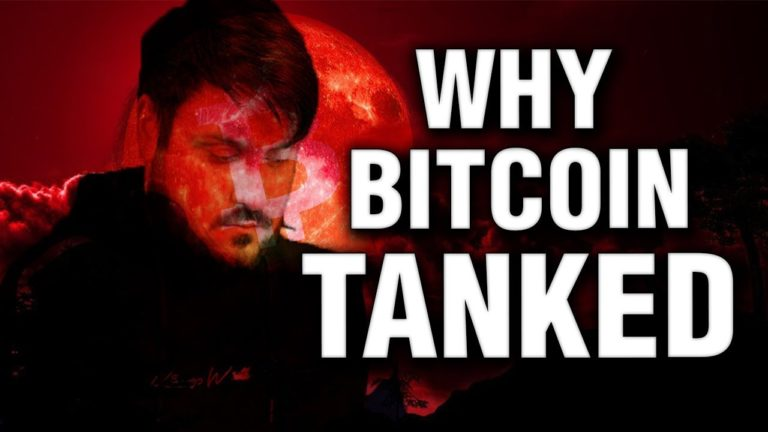 Why Bitcoin Tanked