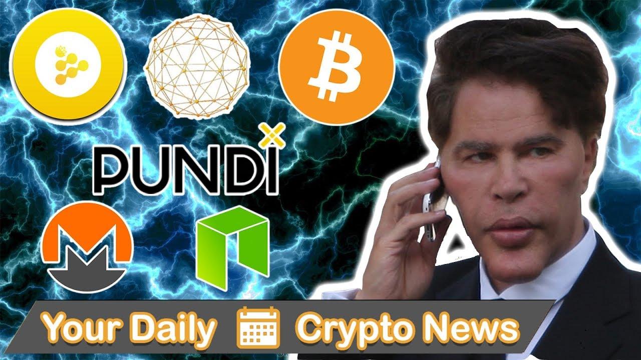 Bitcoin Falls Again, iExec, WaykiChain, NPXS, NEO, XMR, & He Sold It
