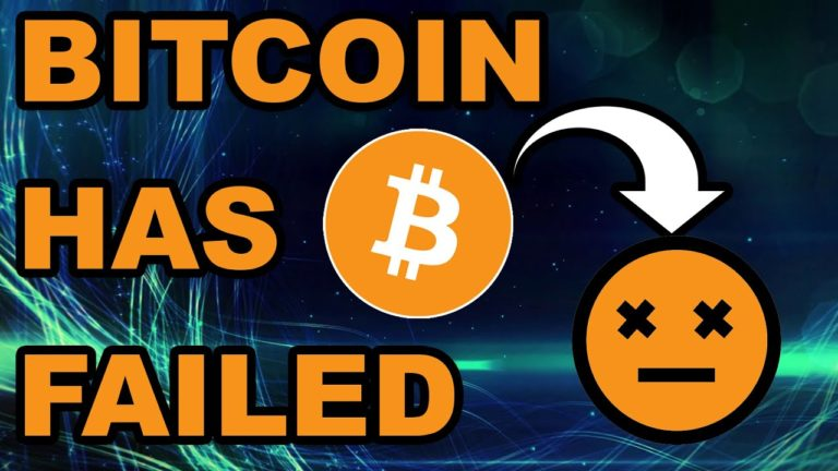 Bitcoin Has Failed