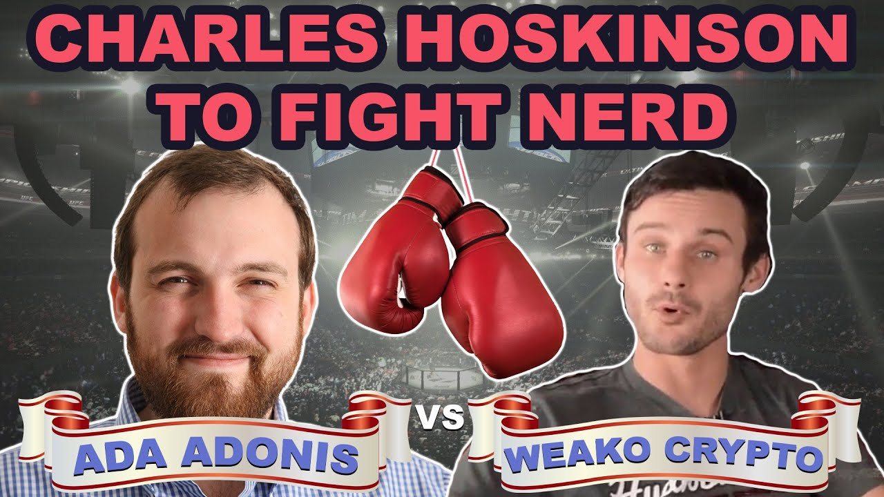 Charles Hoskinson to Fight Nerd | Crypto to Overtake Fiat in 2030 (Bitcoin News 2019)