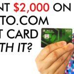 I Spent $2,000 on Crypto.com Debit Card - Worth It?