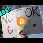 THIS IS NOT A COINCIDENCE: Google Just BANNED Ethereum Holders   YouTube's Final Bitcoin Response