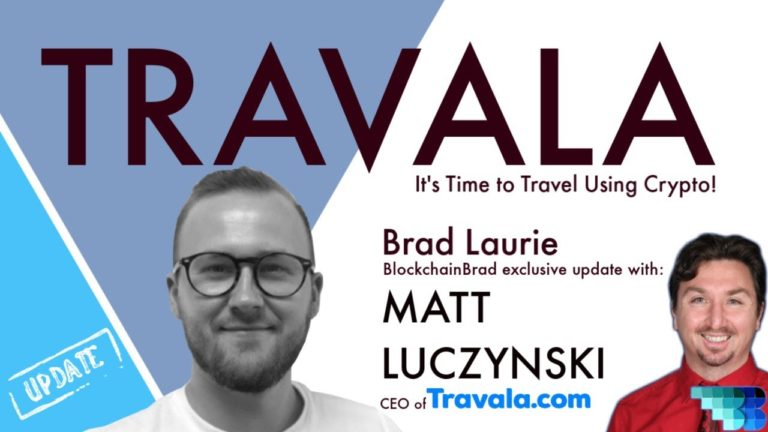 Travala | Next-gen Online Travel Agency | Matt Luczynski | BlockchainBrad | Crypto Interview | $AVA